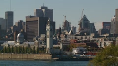 Montreal -Old Port 1 Stock Footage