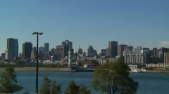 Montreal -Old Port 2 Stock Footage