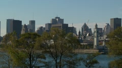 Montreal -Old Port 3 Stock Footage