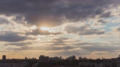 Follow The Sun In City 4 without birds and destructive color correction in ProRe Stock Footage
