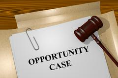 Opportunity Case concept - stock illustration
