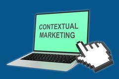 Contextual Marketing concept - stock illustration