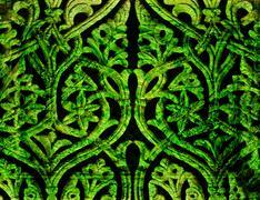 Mandala. Ethnic decorative elements. Islam, Arabic, Indian, ancient ornament Stock Illustration