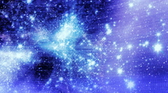 Traveling through star fields in space - Space 2090 HD, 4K Stock Footage Stock Footage