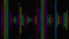 Digital Equalizers 2 - stock footage