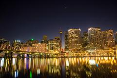 The Darling Harbour - stock photo