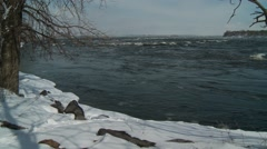 Lachine Rapids - Montreal 5 Quebec, Canada - stock footage