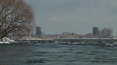 Lachine Rapids - Montreal 4 Quebec, Canada Stock Footage