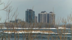 Lachine Rapids - Montreal 6 Quebec, Canada - stock footage