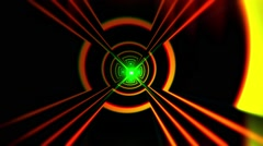 VJ Abstract Tunnel 5 - stock footage