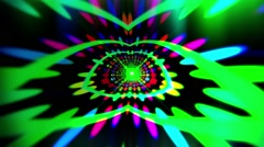 VJ Abstract Tunnel 9 - stock footage