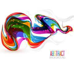 Vector Color waves Stock Illustration