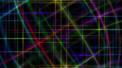 VJ Abstract Laser Dancing 2 Stock Footage
