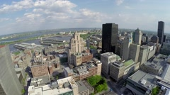 Downtown - Montreal Canada 1 Stock Footage