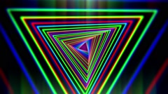 Tunnel Creative Vj Abstract Background 1 Stock Footage