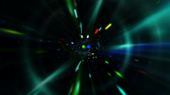 VJ Abstract Techno Energy Dance 1 - stock footage
