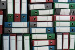Binders Archive, Ring Binders, Bureaucracy Stock Photos