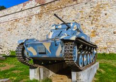 Military Museum in Kalemegdan Belgrade - Serbia Stock Photos