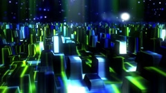 Abstract VJ Loop Music Festival. - stock footage