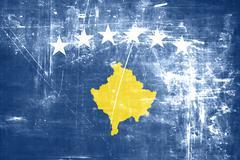 Stock Illustration of Kosovo flag