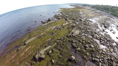 St Flavie 4. gaspe, quebec, canada Stock Footage