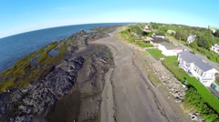 Ste Luce 4. gaspe, quebec, canada Stock Footage