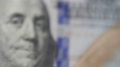 Us 100 Dollar Bill Money Finance Stock Footage