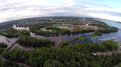 Trois Rivieres 2 Quebec, Canada Stock Footage