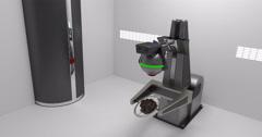 Clean Room Scanner Stock Footage