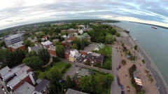Trois Rivieres 7 Quebec, Canada - stock footage