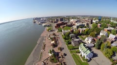 Trois Rivieres 10 Quebec, Canada - stock footage