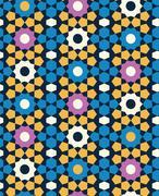 Arabic pattern Stock Illustration