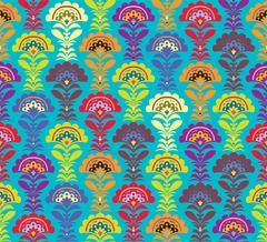 Multi color Retro pattern. Vector formate - stock illustration