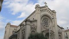 The Church Of Saint Pierre D Arene De Nice Stock Footage