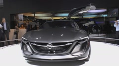 International Automobile Salon Stock Footage