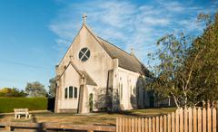 St Anthony's Catholic Church - stock photo