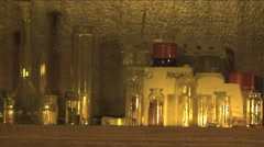 Lab Flask Drugs bulbs chemical farm preparation in old laboratory 2K Stock Footage