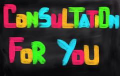 Consultation For You Concept - stock illustration