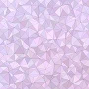 Light purple irregular triangle mosaic background Stock Illustration