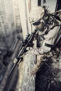 United States Army ranger - stock photo
