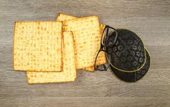 holiday jewish judaism matza kosher pesachah torah - stock photo