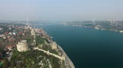 Istanbul Rumeli Hisari Stock Footage