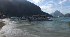 Fishermans village - stock footage