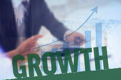 Composite image of growth - stock photo