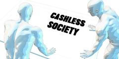 Cashless Society Stock Illustration