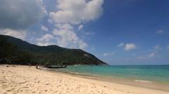 Koh Phangan. Bottle Beach at Phangan Island. Stock Footage