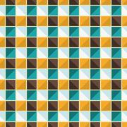 Vector geometric endless pattern. - stock illustration