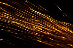 Sparks abstract background Stock Photos