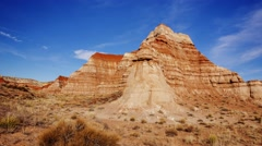 Vermillion Cliffs in Grand Staircase-Escalante National Monument, Timelapse Stock Footage