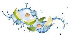 splash of mohito cocktail - stock photo